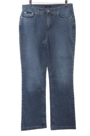 Gant Jeansschlaghose graublau Casual-Look