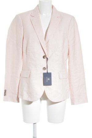 Gant Jersey blazer stoffig roze zakelijke stijl