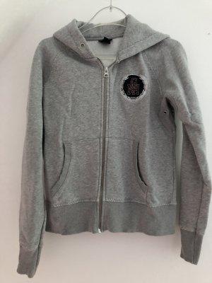 Gant Giacca con cappuccio grigio chiaro