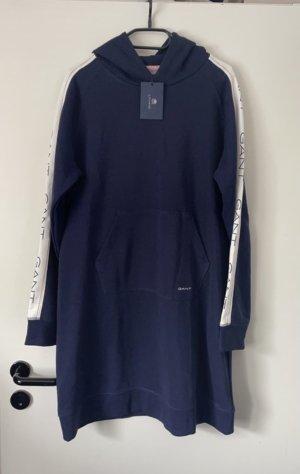 Gant Hooded Dress dark blue-white