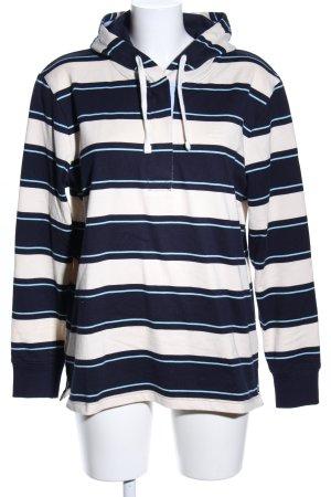 Gant Kapuzensweatshirt Streifenmuster Casual-Look
