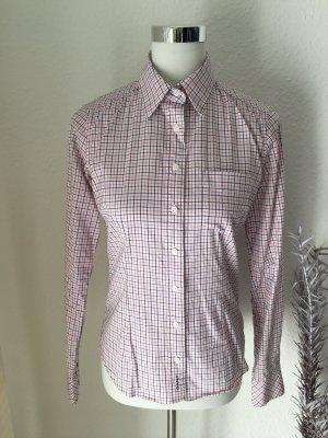 Gant Blusa-camisa blanco-rojo frambuesa