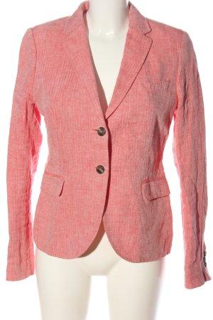 Gant Kurz-Blazer pink meliert Casual-Look
