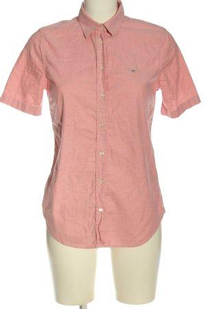 Gant Kurzarmhemd pink Business-Look
