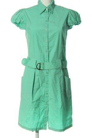 Gant Kurzarmkleid grün Casual-Look