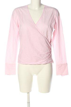 Gant Langarm-Bluse pink Streifenmuster Casual-Look