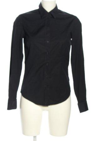 Gant Blusa de manga larga negro estilo «business»