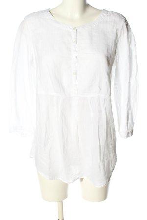 Gant Langarm-Bluse weiß Casual-Look