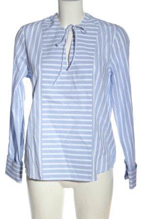 Gant Langarm-Bluse blau-weiß Streifenmuster Elegant