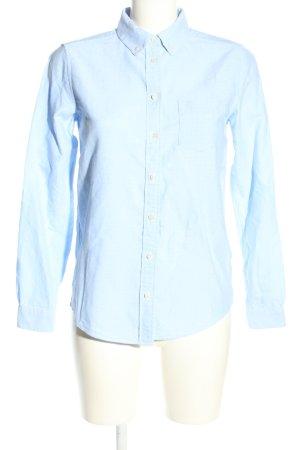 Gant Langarm-Bluse blau Business-Look