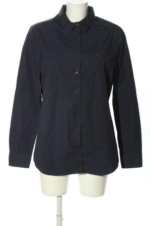 Gant Langarm-Bluse schwarz Business-Look