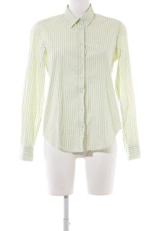 Gant Langarm-Bluse wiesengrün-weiß Streifenmuster
