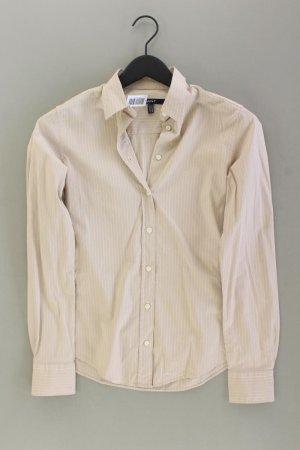Gant Langarmbluse Größe 36 creme aus Baumwolle