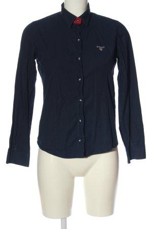 Gant Langarmhemd blau Casual-Look