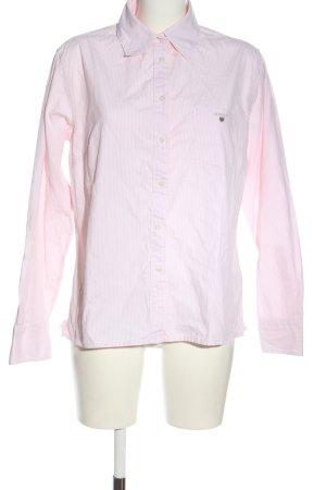Gant Langarmhemd creme-weiß Allover-Druck Casual-Look