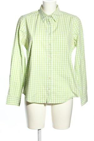 Gant Langarmhemd grün-weiß Karomuster Casual-Look