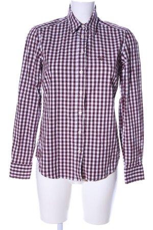 Gant Langarmhemd bronzefarben-weiß Karomuster Business-Look
