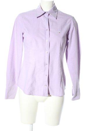 Gant Langarmhemd lila Casual-Look