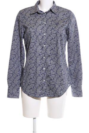Gant Langarmhemd blau-hellgrau Mustermix Business-Look