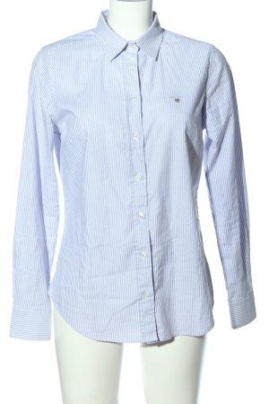 Gant Langarmhemd blau-weiß Streifenmuster Business-Look