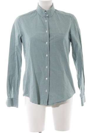 Gant Langarmhemd kadettblau-weiß Karomuster College-Look