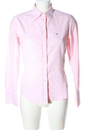 Gant Langarmhemd pink Karomuster Casual-Look