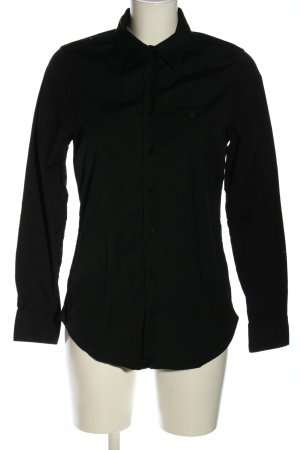 Gant Langarmhemd schwarz Business-Look