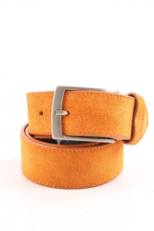 Gant Lederen riem licht Oranje casual uitstraling