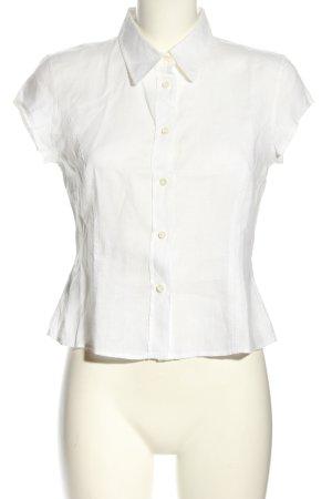 Gant Blouse en lin blanc style d'affaires