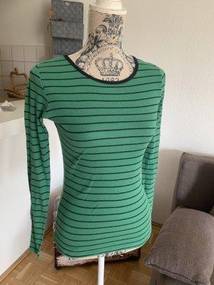 Gant LongSleeve/Shirt - Green/Black - Größe XS 32/34 - Gestreift