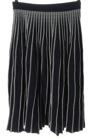 Gant Midirock schwarz-weiß Streifenmuster Casual-Look