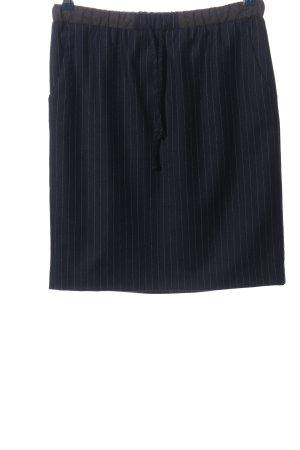 Gant Minirock blau-weiß Streifenmuster Business-Look
