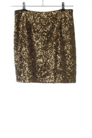 Gant Minirock bronzefarben-goldfarben extravaganter Stil