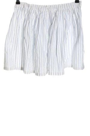 Gant Mini rok wit-blauw gestreept patroon casual uitstraling