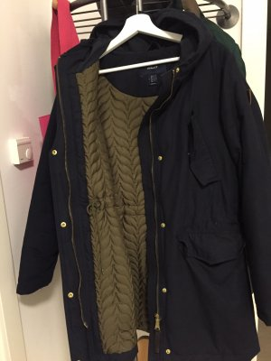 Gant Winterjas donkerblauw