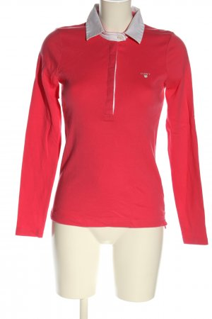 Gant Camiseta tipo polo rojo look casual