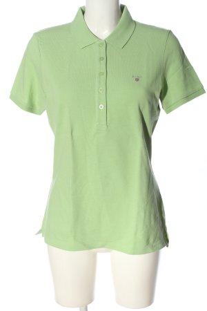Gant Polo-Shirt grün Casual-Look