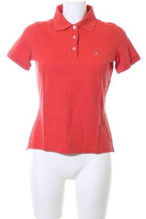 Gant Polo-Shirt rot Casual-Look