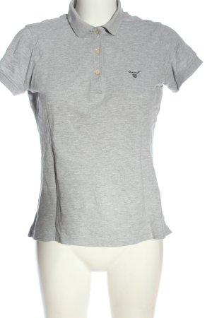 Gant Polo gris clair moucheté élégant