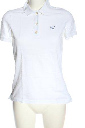 Gant Polo-Shirt weiß Casual-Look
