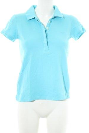 Gant Polo-Shirt hellblau Casual-Look