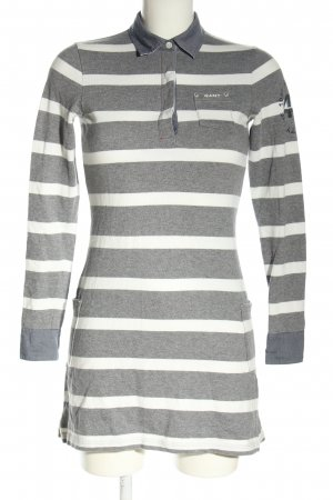 Gant Polo Dress light grey-white themed print casual look