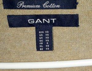 Gant Pullover Gr 34 XS sandfarben neu