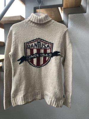 Gant Pullover Rollkragen Lambswool Gr. S beige
