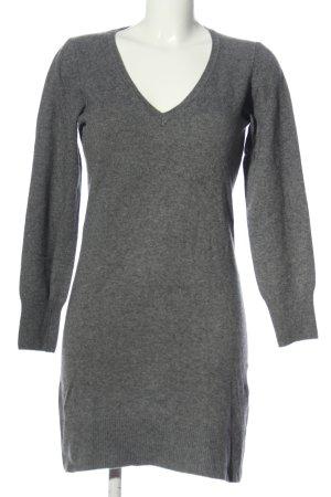 Gant Pulloverkleid hellgrau meliert Casual-Look
