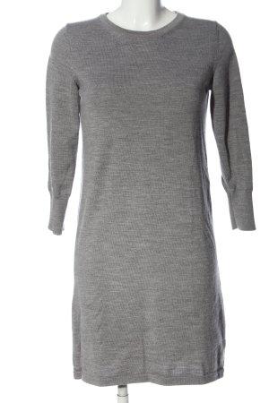Gant Robe pull gris clair moucheté style d'affaires