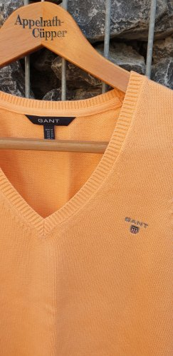 Gant Fine Knitted Cardigan apricot