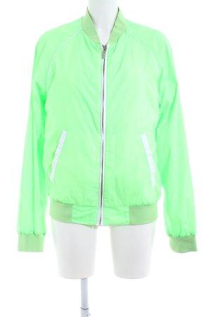 Gant Regenjacke grün-weiß Casual-Look