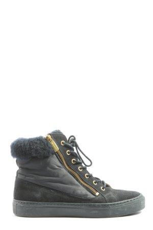 Gant Reißverschluss-Stiefeletten schwarz Casual-Look