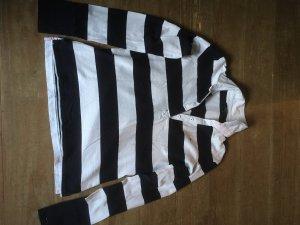 Gant Polo de rugby blanc-bleu foncé coton